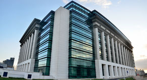 Bucharest National Library Stock Photo