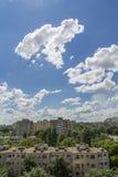 Bucharest neighborhood Stock Image