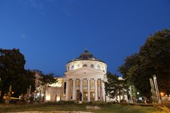 Bucharest by night Stock Images