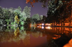 Bucharest Night Royalty Free Stock Image