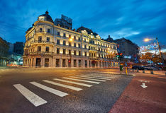 Bucharest by Night Stock Image