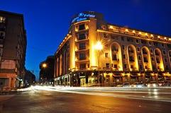 Bucharest night scene 2 Stock Photos