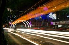Bucharest night scene Royalty Free Stock Image