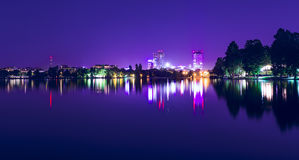 Bucharest by night Royalty Free Stock Photography