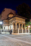 Bucharest by night - Stavropoleos Monastery Stock Image