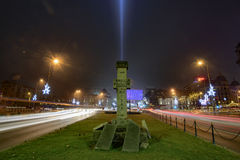 Bucharest nightlife Royalty Free Stock Image
