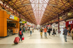 Bucharest North Railway Station (Gara de Nord) Stock Image
