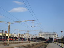 Bucharest North railway station Royalty Free Stock Photography