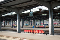 Bucharest North Station. Gara de Nord is the main railway station in Bucharest and the largest station in Romania Royalty Free Stock Photos