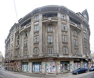 Bucharest old buildings-Palas restaurant royalty free stock image