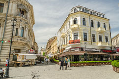 Bucharest Old Center Stock Photo