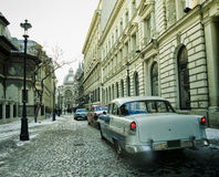 Bucharest old city Royalty Free Stock Photography