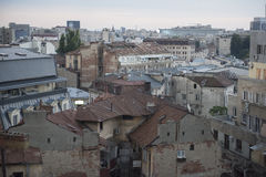 Bucharest old city Royalty Free Stock Images