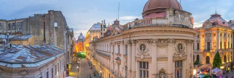 Free Bucharest Old Town - Romania Royalty Free Stock Photo - 119329065