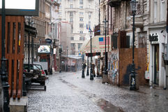 Bucharest old town Stock Photography