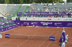 Bucharest Open 2014(11). WTA tennis comes to Romania between 7-13 July 2014 with the inaugural Bucharest Open on the red clay of the Arenele BNR Stock Image