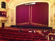 Bucharest Opera House. Auditorium, Romania Stock Photography