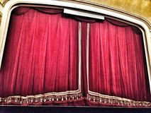 Bucharest Opera House curtain Royalty Free Stock Photo