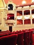 Bucharest operahus Arkivfoto