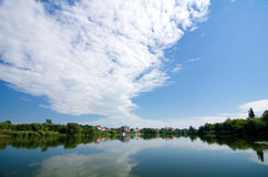 Bucharest otoczenia - Snagov jezioro Zdjęcia Royalty Free
