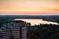 Bucharest outskirts Stock Images