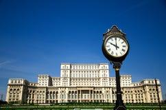 bucharest pałac parlament Fotografia Stock