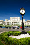 bucharest pałac parlament obrazy stock