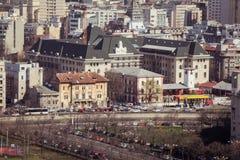 Bucharest panorama Zdjęcie Stock
