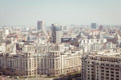Bucharest panorama Obrazy Royalty Free