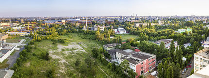 Bucharest panorama Fotografering för Bildbyråer