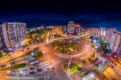 bucharest panorama- sikt Royaltyfri Fotografi