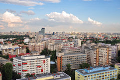 Bucharest panoramic view 2 Stock Image