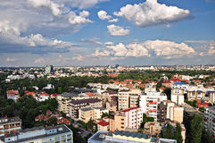 Bucharest panoramic view Stock Photography
