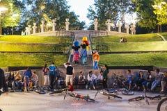 Bucharest park Obrazy Stock