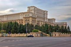 Bucharest parliament Stock Photography