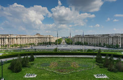 Bucharest Parliament Square Royalty Free Stock Photos