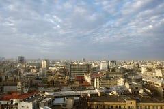 Bucharest pejzaż miejski Zdjęcie Royalty Free