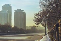 Bucharest pejzaż miejski zdjęcie stock