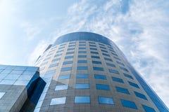 Bucharest placu Pieniężny budynek Obrazy Stock