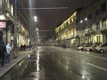 Bucharest protest Arkivfoto