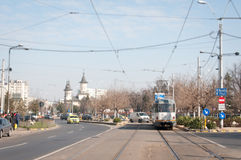 Bucharest road infrastructure Stock Images