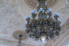 BUCHAREST/ROMANIA - 9月21日:宫殿o的内部看法 库存图片