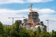 BUCHAREST/ROMANIA - 9月21日:罗马尼亚人` s Salvati 库存照片