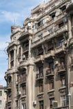 BUCHAREST/ROMANIA - 9月21日:老公寓看法在Buc 图库摄影
