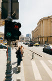 Bucharest Romania Calea Victoriei Stock Image