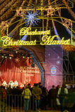 Bucharest, Romania - December 25: Bucharest Christmas Market on Royalty Free Stock Photos