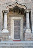 Bucharest, Romania: Entrance to chapel at Antim Monastery Stock Photography