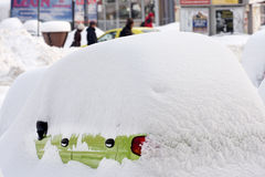 BUCHAREST ROMANIA - February 14: Weather anomalies Royalty Free Stock Photos
