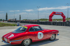 Bucharest, Romania - July 11, 2015: Retromobil Grand Prix 2015 Stock Images