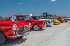 Bucharest, Romania - July 11, 2015: Retromobil Grand Prix 2015 Stock Image